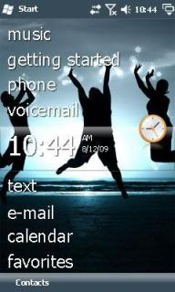 Jump Htc Theme Mobile Theme