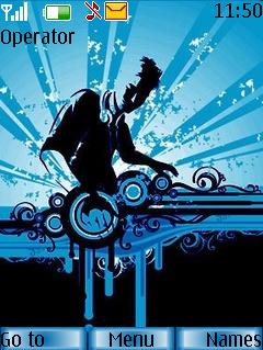 DJ Relok Theme Mobile Theme