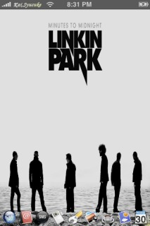 Linkin Park Theme Mobile Theme