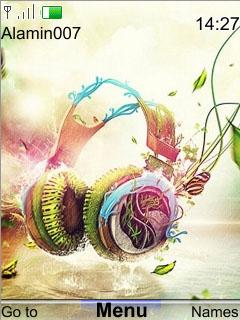 Xpress Music Theme Mobile Theme