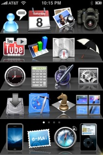 Stereo IPhone Theme Mobile Theme