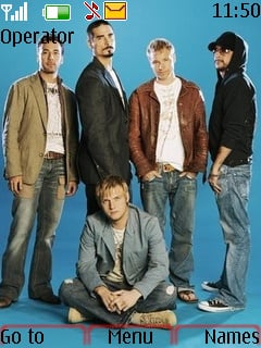 Backstreet Boys Nokia Theme Mobile Theme