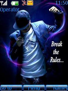 Break The Rules Theme Mobile Theme