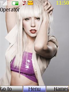 Lady Gaga Nokia Theme Mobile Theme