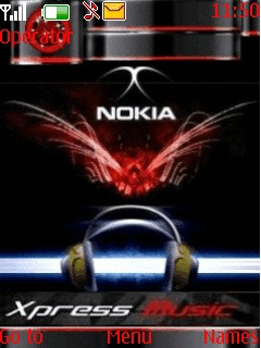 Xpress Nokia Mobile Theme