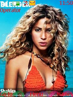 Shakira Mobile Theme