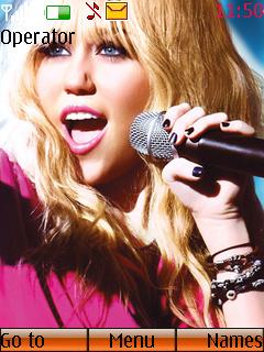 Hannah Montana Mobile Theme