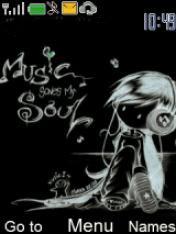 Music Soul Mobile Theme