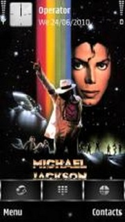 Michael Jackson Moonwalker Mobile Theme