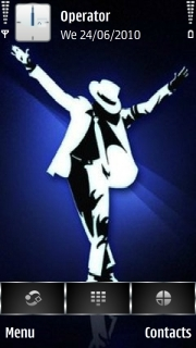Michael Jackson Black Or White Mobile Theme