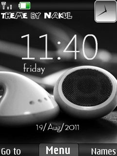 Headphone Mobile Theme