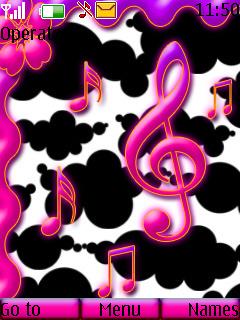 Sky Music Mobile Theme