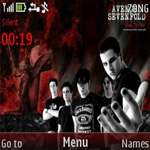 Avenged Sevenfold Mobile Theme