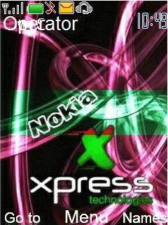 Anmated Nokia Xpress Mobile Theme