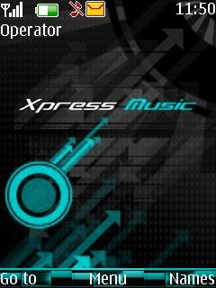 Xpress Music Mobile Theme