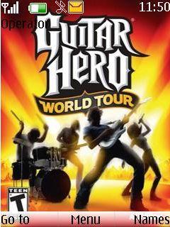 Guitar Hero Mobile Theme
