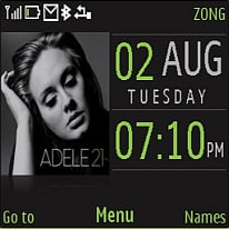 Adele Mobile Theme