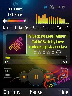 Xpress Music Player Mobile Theme