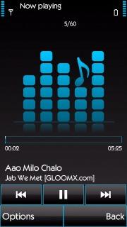 Music Play Nokia S60v5 Theme Mobile Theme