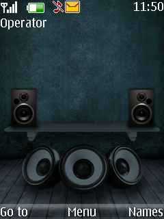 Music Speakers S40 Theme Mobile Theme