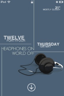 Music Headphone Lockedscreen IPhone Theme Mobile Theme