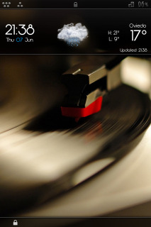 Music Play Forcast IPhone Theme Mobile Theme