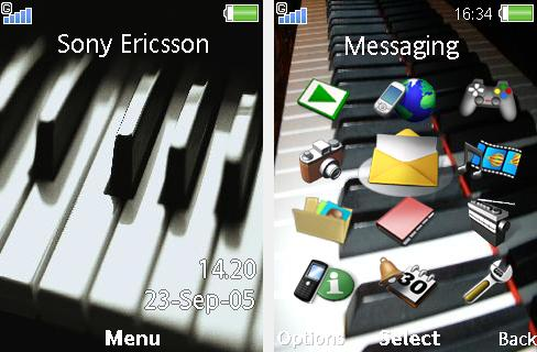Piano Mobile Theme