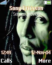 Bob Marley Theme Mobile Theme