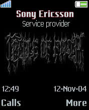 Cradle Of Filth I Mobile Theme