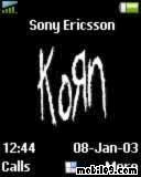 Korn Sony Ericsson Theme Mobile Theme