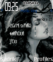I Need U Mobile Theme