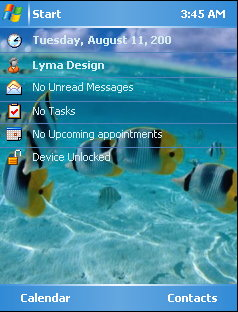 Fish Mobile Theme