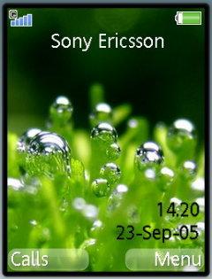 Grass Dew Theme Mobile Theme