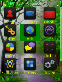 Forest Mobile Theme