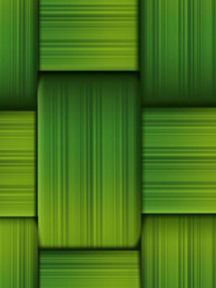 Green Bamboo Mobile Theme