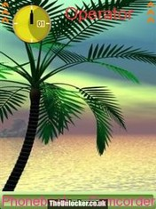 Coconut Tree Mobile Theme
