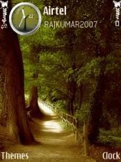 Nature Curve Mobile Theme