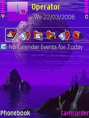 Moon Light Mobile Theme