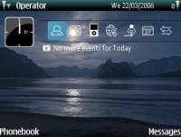 Night Beach Mobile Theme