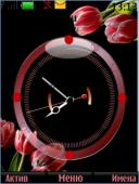 Tulip Clock Mobile Theme