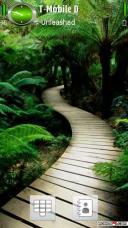 Beautiful Path Mobile Theme
