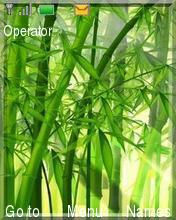 Bamboo Nature Mobile Theme