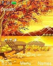 Sunset Lake Mobile Theme