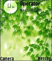 Greenery Theme Mobile Theme