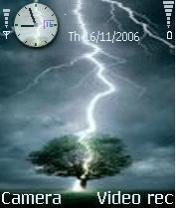 Lightning Mobile Theme