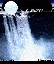 Water Fall Animated Mobile Theme