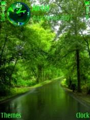 Green Path Mobile Theme
