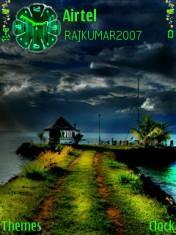 Green Art Nature Theme Mobile Theme