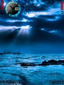 Blue Sunrise Mobile Theme