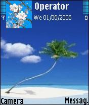 Dream Island Mobile Theme